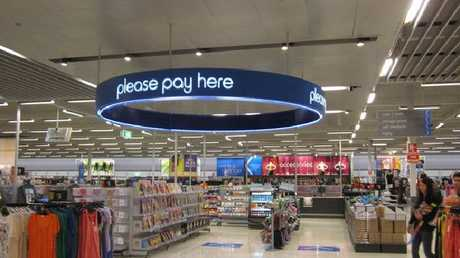 """Customers say having the checkout in the middle of the store is """"disorienting"""". Picture: Lindsay Moller"""