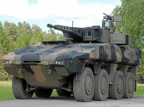 The Boxer is a multirole armoured fighting vehicle designed to accomplish a number of operations through the use of installable mission modules.