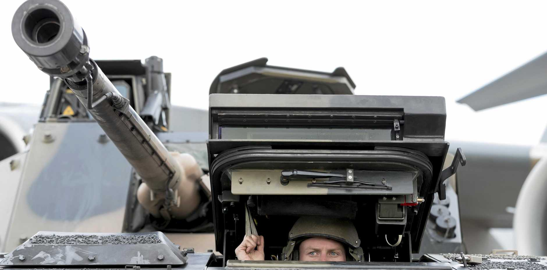 The Army's Land 400 project could be coming to Queensland regions.