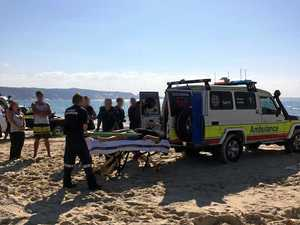 Jet ski rider airlifted with suspected spinal injuries