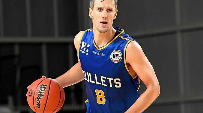 Daniel Kickert of the Brisbane Bullets.