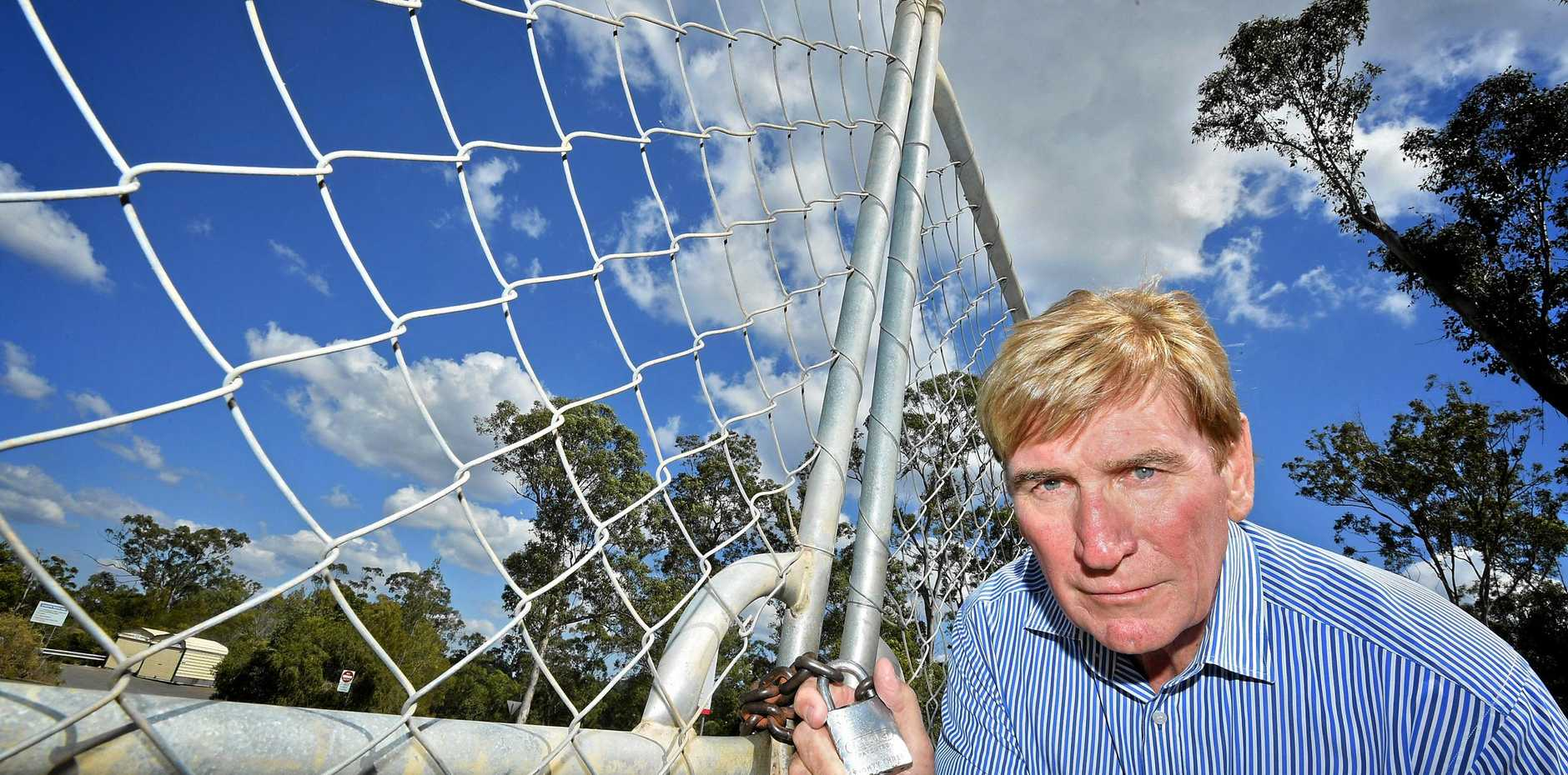 Chris De Vere is unhappy with the restricted hours on Mary Valley dumps.