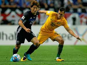 Socceroos laud Trent Sainsbury for brave injury comeback