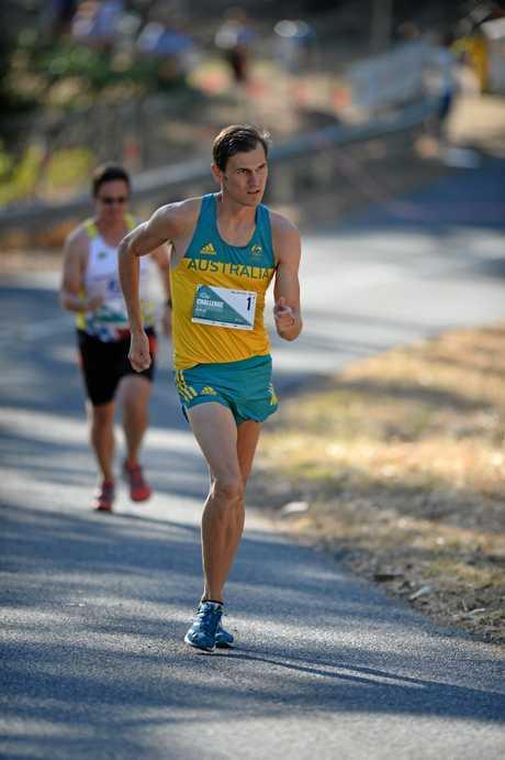 Australian Olympian Dane Bird-Smith.