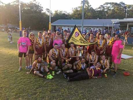 WINNERS: Maryborough Bears won the QFA Wide Bay reserves premiership after a 28-point over Across The Waves at Frank Coulthard Oval, Bundaberg.