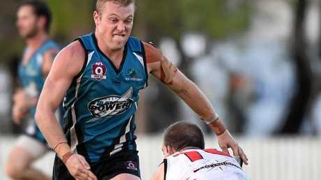 AFL - Bay Power V. Brothers Bulldogs. Josh Wheeler (Power).