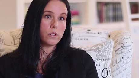 Cella White, here in a 2016 video speaking about her views on the Safe Schools program, also features in the Coalition for Marriage's latest ad.