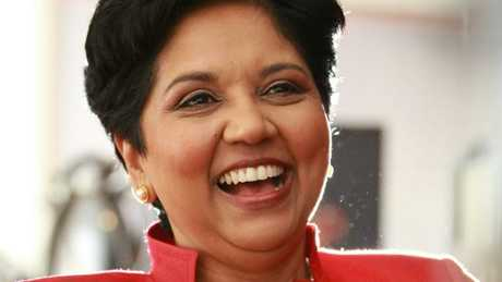 PepsiCo worldwide chairman and CEO Indra Nooyi.