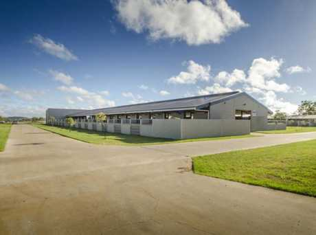 FOR SALE: Bahram Stud Training Centre in Westbrook is now for sale.