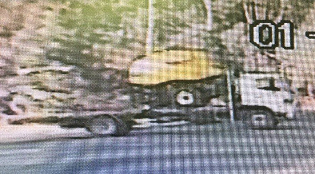 Police are looking to identify this truck involved in a serious traffic incident near Nanango last night.