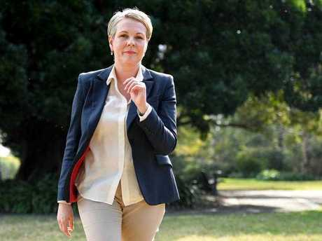 Deputy Opposition Leader, Tanya Plibersek, departs following a press conference in Sydney on Sunday, September 3, 2017. Ms Plibersek has raised concerns around Barnaby Joyce acting as Prime Minister while his eligibility to be in Parliament is being decided by the High Court.