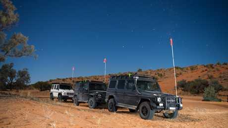 The Mercedes-Benz G-Class on an Australian Outback adventure.