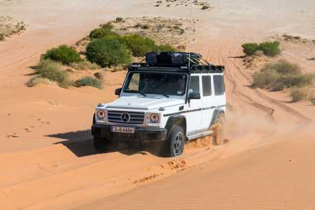 The Mercedes-Benz G-Class on an Australian Outback adventure.