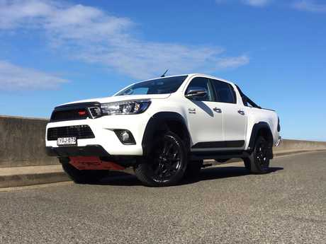 Toyota HiLux TRD special edition (2017 model shown).