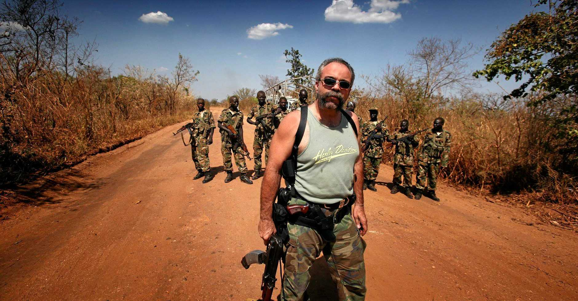 Sam Childers, better known as the Machine Gun Preacher.