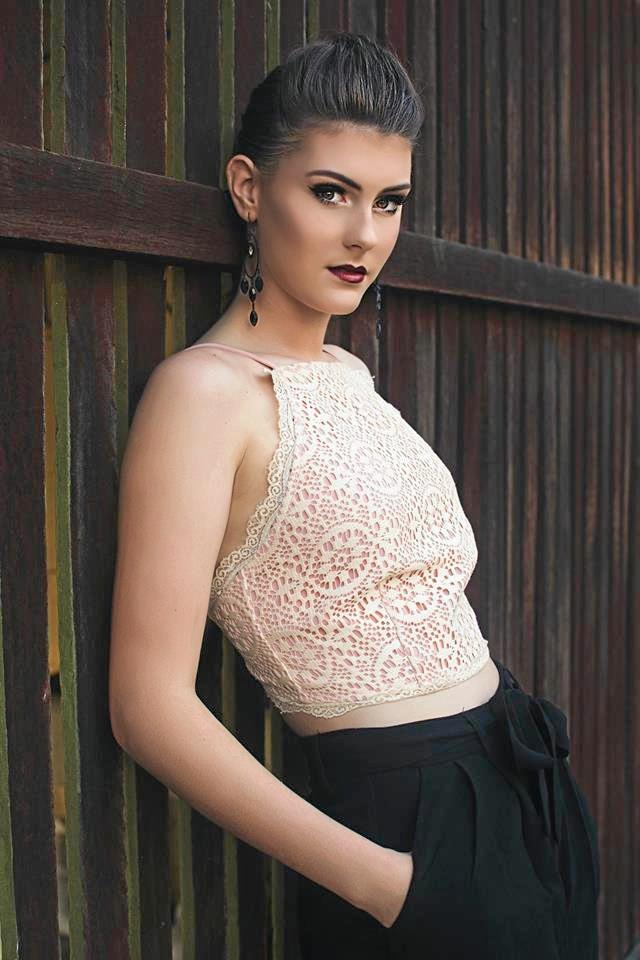 MODEL STUDENT: Brooke Lawrie took out the Rockhampton leg of Miss Country Girl.
