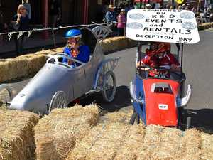 PHOTOS: Father's Day billycart races rocked