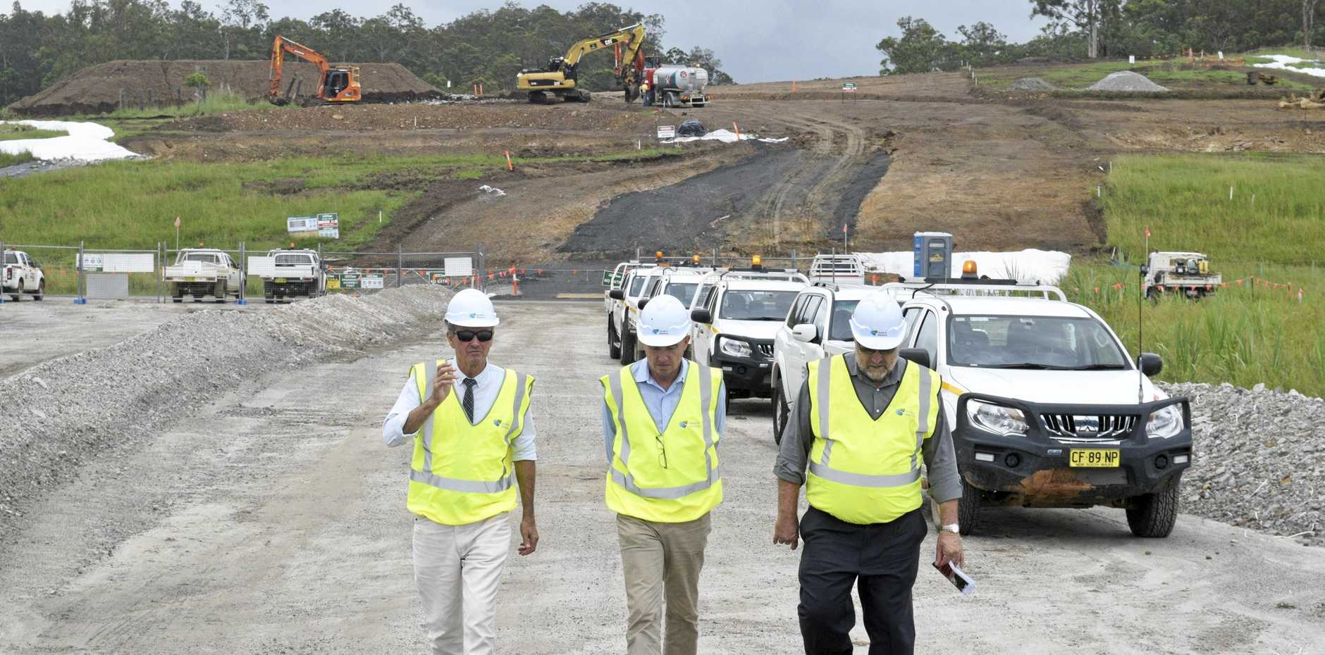 Work continues on the Pacific Highway upgrade