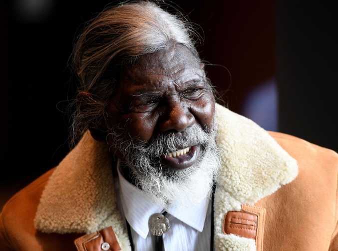 David Gulpilil plays the father of Fingerbone Bill in the Storm Boy remake.