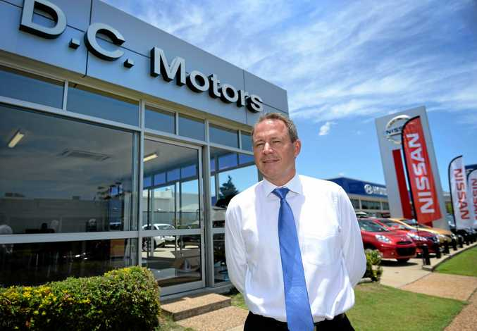ON A ROLL: DC Motors principal Peter Scherer said consumer confidence has returned to Central Queensland as the team drive one of the best Augusts on record.