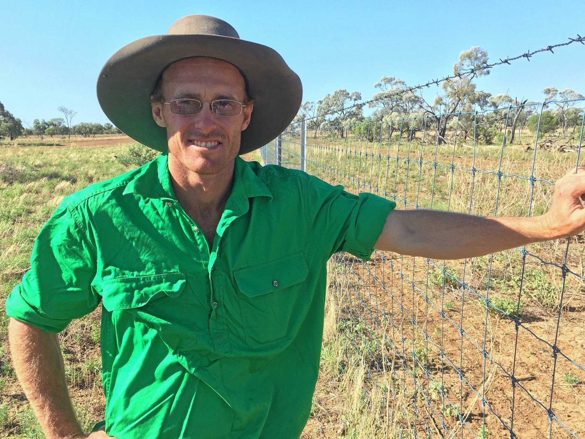Longreach wool producer David Owens, is another western Queensland producer who was motivated to install exclusion fencing to reduce the impact of wild dogs on his Merino operation.
