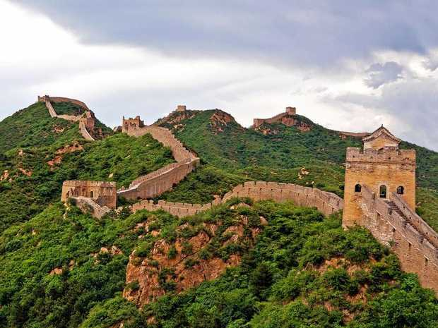 It's not exactly the Great Wall of China (pictured) but it's the closest thing in CQ.