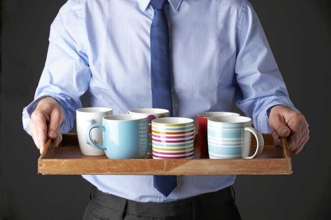Think twice before taking a coffee mug from the office kitchen!