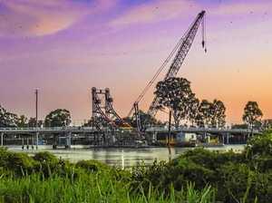Restoration work continues on McFarlane Bridge