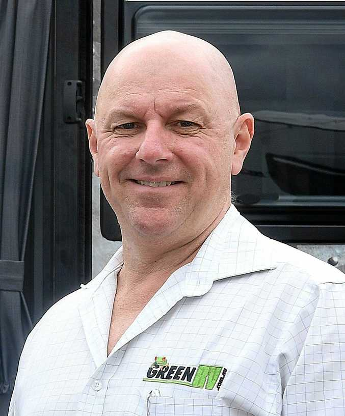 SUCCESS: Carl Green from Green RV in Gympie built his empire from a small car-yard in 1997 to a multi-million dollar caravan and motorhome dynasty.