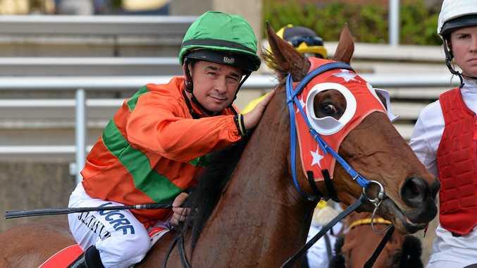 BIG CHANCE: Gold Coast jockey Jason Taylor will have rides at the Ballina Cup on Thursday.