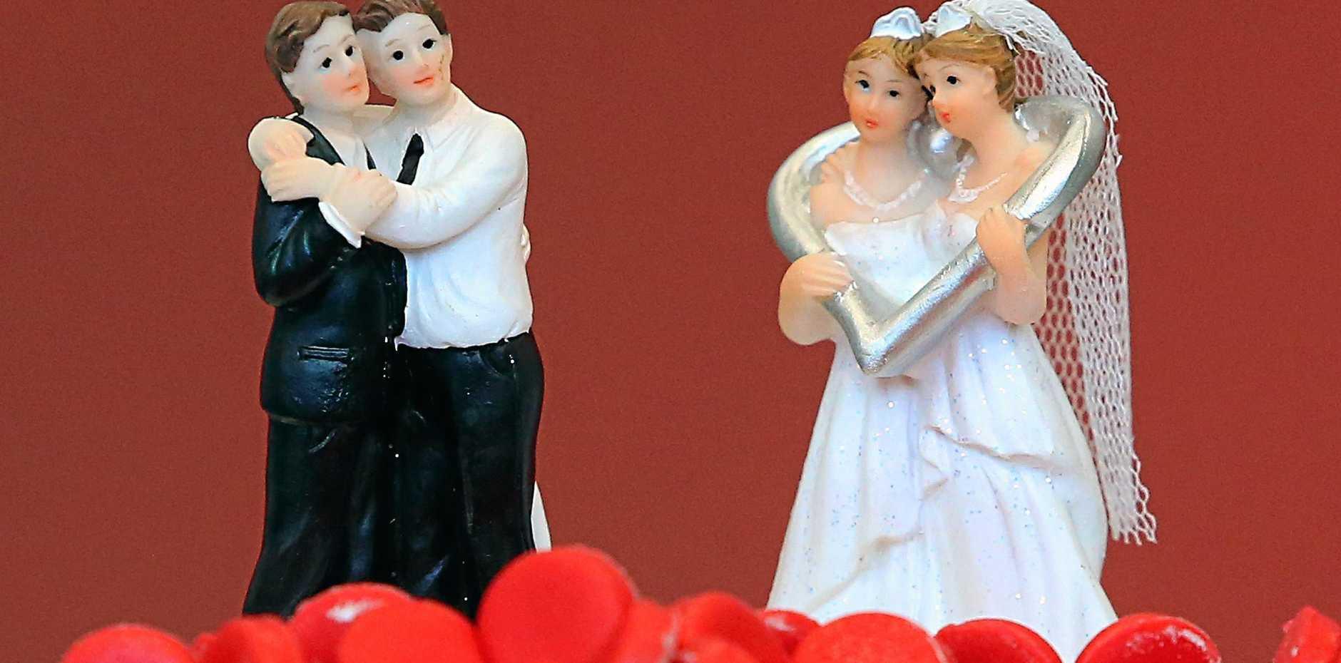 Debate is still raging about same sex marriage.