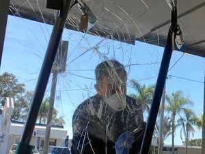 VIDEO: Women caught in act smashing Mackay shop front