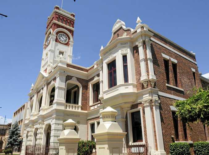 Toowoomba Regional Council building.
