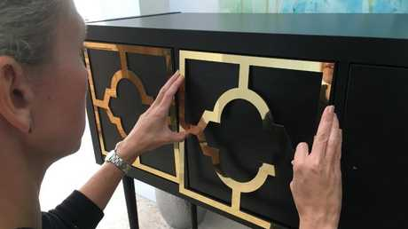 The panels are designed to jazz up Ikea pieces.Source:Supplied