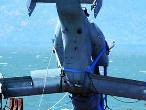 Wreck of Osprey shipped to Townsville