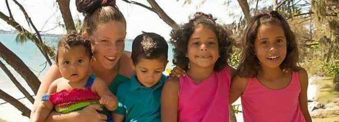 Shan and her kids