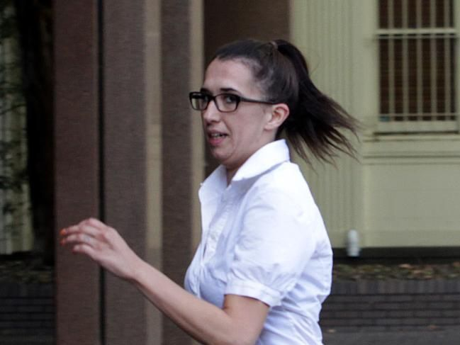 Louise Spiteri-Ahern is on trial for the murder of her ex-lover, Rebels bikie Ray Pasnin who was gunned down in 2013.