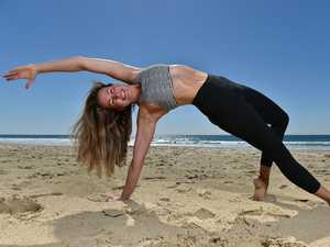 YOGA: high-intensity workout.