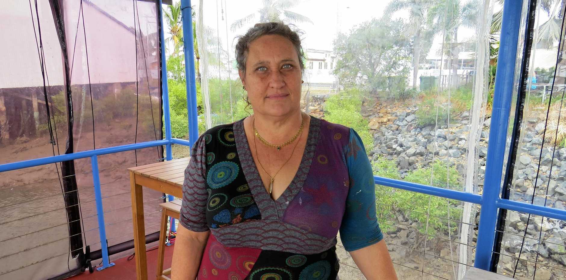 STILL STUCK: Maya Eidson, owner of Maria's Donkey has lost her citizenship appeal.