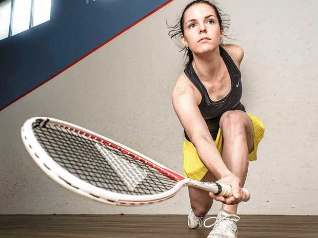 BACK-TO-BACK GOALS: Coffs Harbour's own Tamika Saxby is back home to defend the North Coast Open title she won last year.