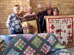 Quilting group bringing joy and donations to region's patients