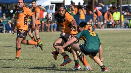 CELEBRATE: Avondale Players were all smiles after winning the NDRL grand final over Gin Gin.