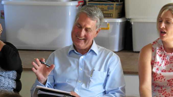 Mackay mayor Greg Williamson held a
