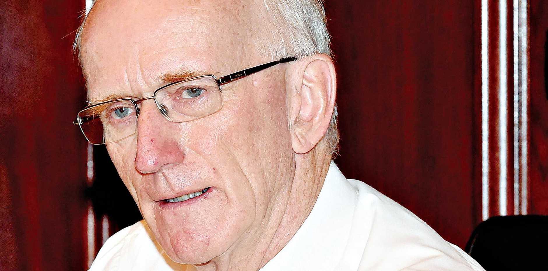 Under threat of sack: Mayor Chris Loft
