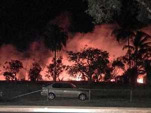Rockhampton property blaze sparks massive emergency response