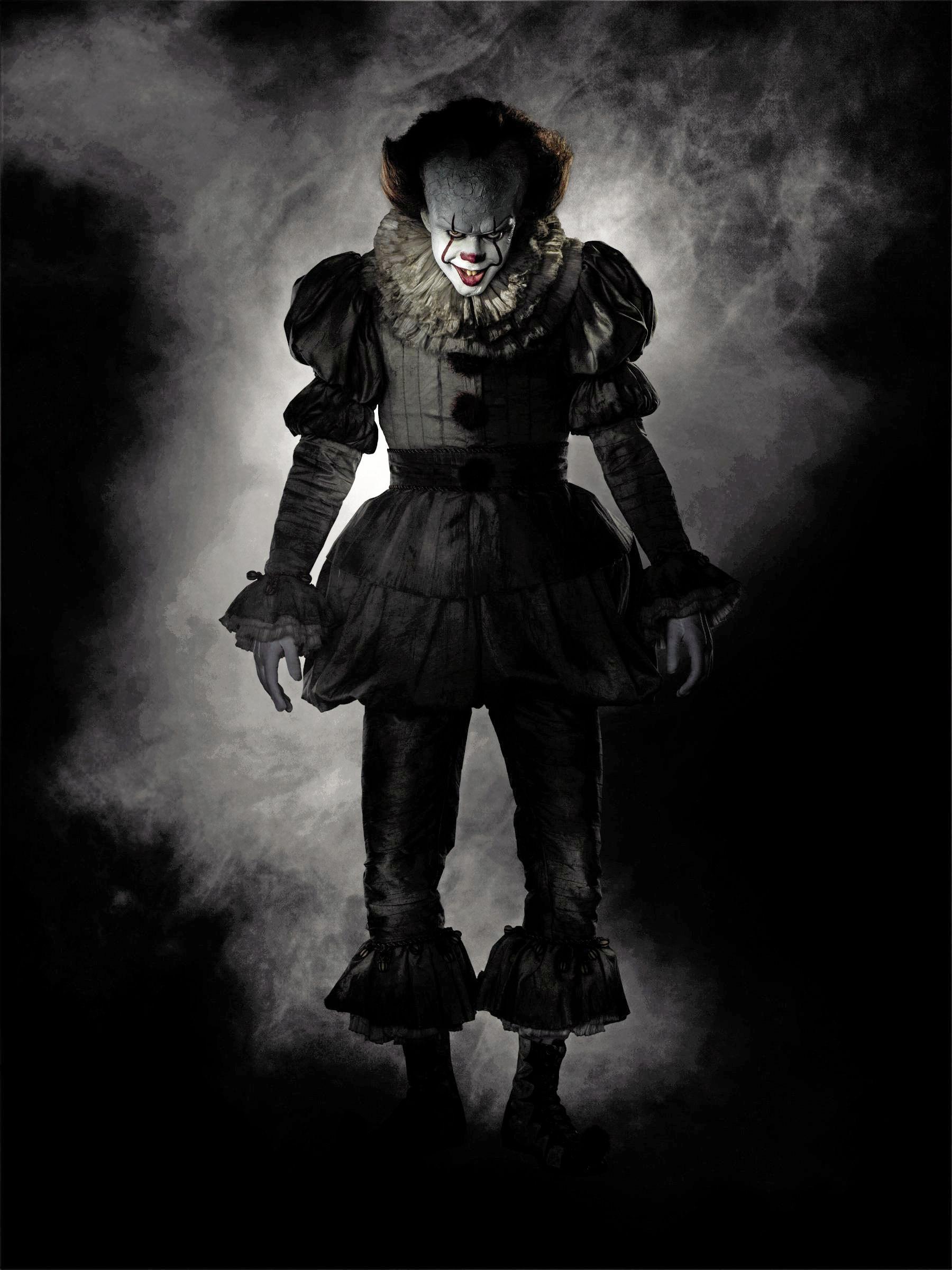 NIGHTMARE FUEL: Pennywise the clown (Bill Skarsgard) is a scene stealer in Stephen King's It.