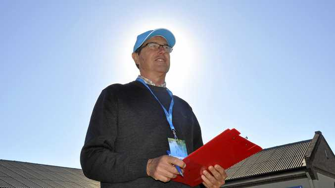 ON YOUR BIKE: The Bicycle Network's Super Tuesday North volunteer Rick Haywood.