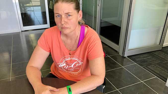 STOLEN: Casey Fletcher has been left feeling devastated after sentimental rings were stolen from her.