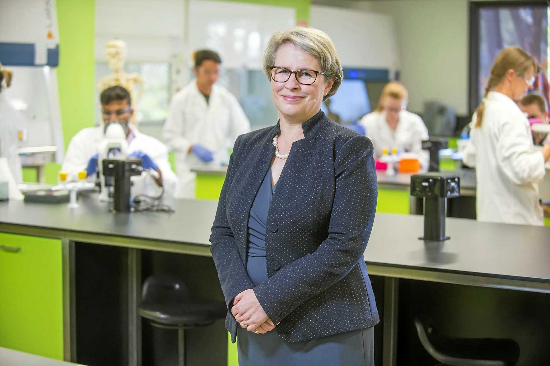 Professor Geraldine Mackenzie commenced as USQ Vice-Chancellor yesterday.