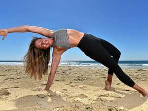 Coast mum steps up intensity for new take on yoga